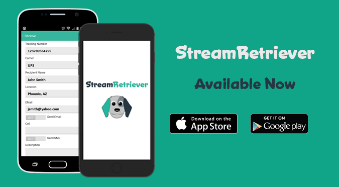 StreamRetriever Available on the App Store and Google Play