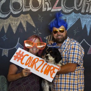 Dale and Angy Swanson for #Color2CureMS